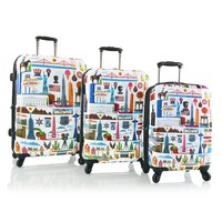 Heys Luggage, Fernando FVT USA 3-pc. Hardside Expandable Spinner Luggage Set