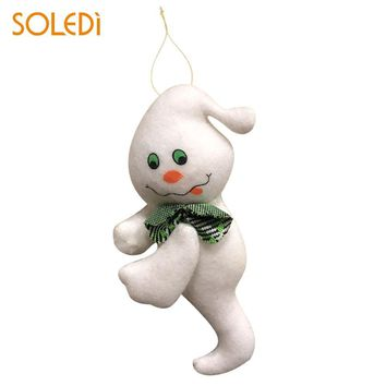 Lovely Halloween Decoration Halloween Doll Plush Doll Cloth Hanging Ghost Black Cat Pumpkin