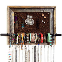 9x12 Custom PAINTED Jewelry Organizer