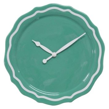 Threshold™ Ceramic Wall Clock - Sea Going