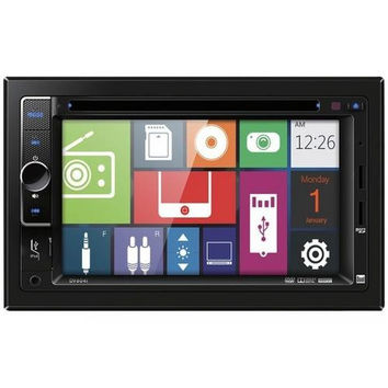 """DUAL DV604I 6.2"""" Double-DIN In-Dash DVD Receiver with iPod(R) Control"""