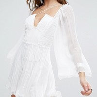 Free People Aquarius Layered Party Dress at asos.com