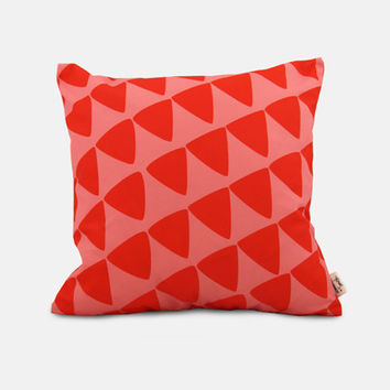 triangles / outdoor scatter cushion
