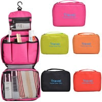Collapsible Purse Organizer Bag Convenient Travel Cosmetic Bag -Kitchen and Toilet Storage Bag
