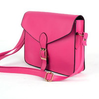 Hot Pink Shoulder Bag Purse Handbag