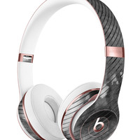 Gray Watercolor Stripes Full-Body Skin Kit for the Beats by Dre Solo 3 Wireless Headphones