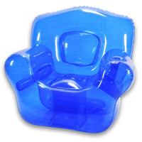 Inflatable Bubble Chair, Ocean Blue
