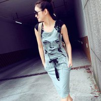 Fashion cotton dress