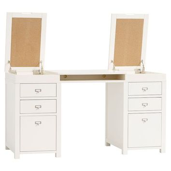 Customize-It Project Storage Pedestal Desk