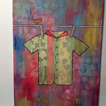 Collage - Hawaiian Shirt Green 1