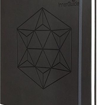 InnerGuide Goal & Success Planner - Increase Mindfulness, Productivity & Happiness. Weekly & Monthly Organizer, Appointment Book & Journal (Undated Faux Leather)