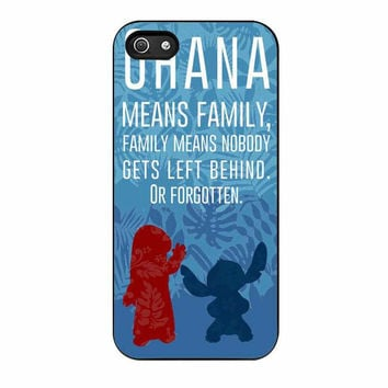 ohana stitch lilo disney cases for iphone se 5 5s 5c 4 4s 6 6s plus