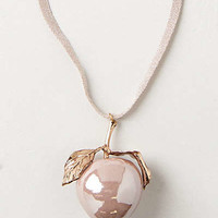 Anthropologie - Pink Lady Pendant Necklace