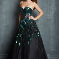 Night Moves 7024 at Prom Dress Shop