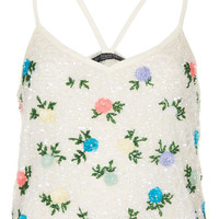 Bright Flower Cami Top - Summer Party - We Love - Topshop USA