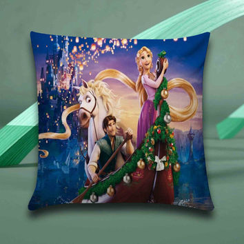 disney tangled Pillow case size 16x16, 16x24, 18x18, 20x30, 20x26