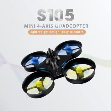 Flytec S105 RC drone Mini Pocket 4-axis Unmanned 2.4G Drop-resistant Remote Control Aircraft Toys