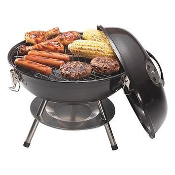 "14"" Charcoal Grill Black"