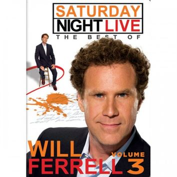 SATURDAY NIGHT LIVE: THE BEST OF WILL FERRELL - VOLUME 3 DVD