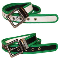 Fire Hose Reversible Green Belt