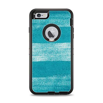 The Worn Blue Texture Apple iPhone 6 Plus Otterbox Defender Case Skin Set