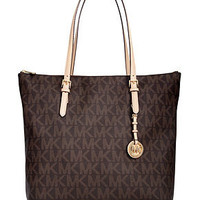 MICHAEL Michael Kors Handbag, Jet Set Large Tote - Tote Bags - Handbags & Accessories - Macy's