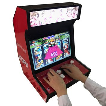 arcade games console using multi game 960 in 1 Pandora's Box 5 for 2 player joystick game controller