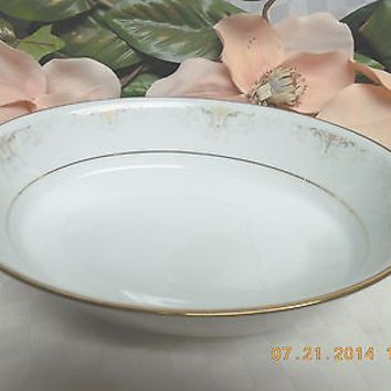 Noritake China Dinnerware Japan  Glendola Pattern #: 2220 Oval serving bowl