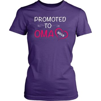 """Promoted""  Oma New Grandma T-Shirt"