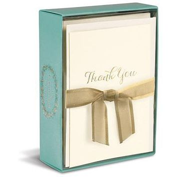 Thank You Script La Petite Presse Folded Notes