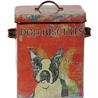 Dog Biscuit Tin By Creative Coop
