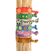 Simbi Haiti Hair Bracelets- 6-Pack Assortment