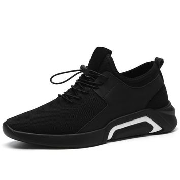 New 2019 Men Casual Shoes flat Sneakers Breathable Fashion skidproof slip-on Shoes Mens loafers Big Plus Size