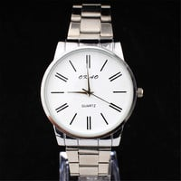 Fashion Mens Steel Strap Watches Best Christmas Gift