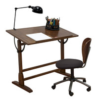 Studio Designs Vintage Drafting Table - Rustic Oak