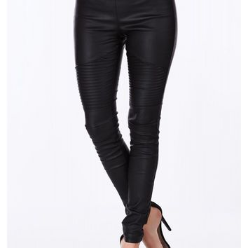 Dom Coated Leggings