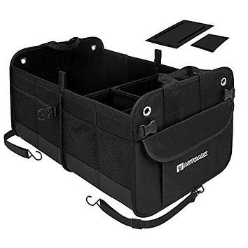 Autoark Multipurpose Car SUV Trunk Organizer with Straps