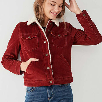 Levi's Corduroy Sherpa Jacket | Urban Outfitters