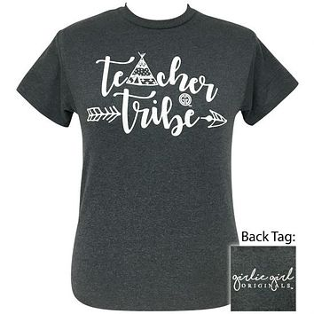 Girlie Girl Originals Preppy Teacher Tribe T-Shirt