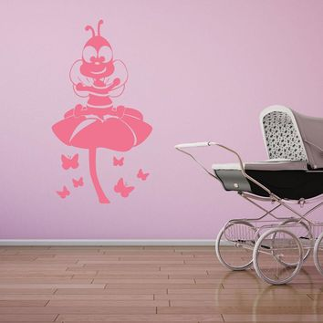 Little Bee Wall Decal
