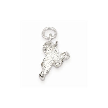 Sterling Silver Saddle Charm