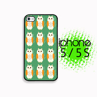 Hoo Hoo Owl iPhone 5S Case | iPhone 5 Hard Case For iPhone 5 Plastic or Rubber Trim