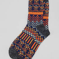 Fair Isle Camp Sock - Urban Outfitters