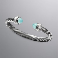 David Yurman | Sterling Silver & Cuff Bracelets | Women's Jewelry | David Yurman | 7mm Silver Ice Bracelet