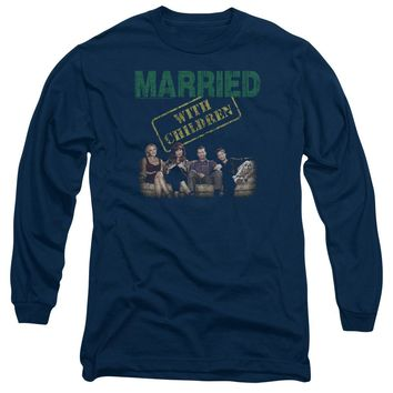 Married With Children - Vintage Bundys Long Sleeve Adult 18/1