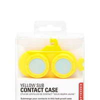 Kikkerland Yellow Sub Contact Case
