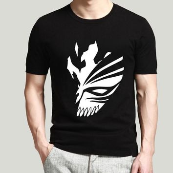 2017 Men Fashion BLEACH T Shirt Cosplay Cartoon Cotton T-Shirts Kurosaki Ichigo funny Tee tops pp brand clothing drake T Shirts
