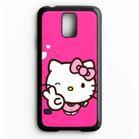 Hello Kitty Girl Samsung Galaxy S5 Case