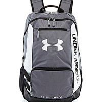 Under Armour Hustle Backpack - Red/Black/White