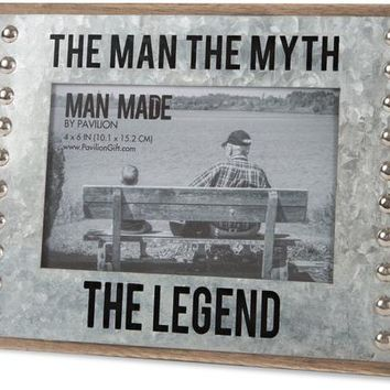 The man the myth the legend Picture Photo Frame